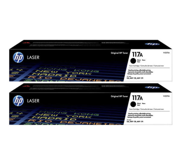 HP 117A Black Toner Cartridge
