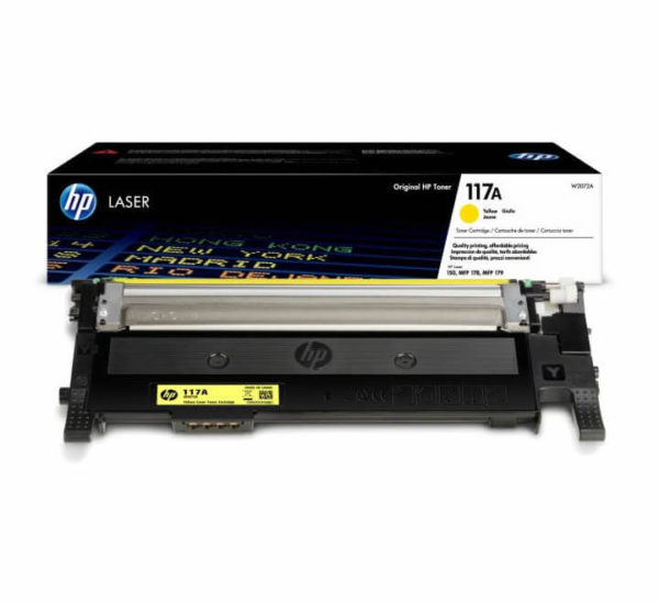 HP 117A Yellow Toner Cartridge