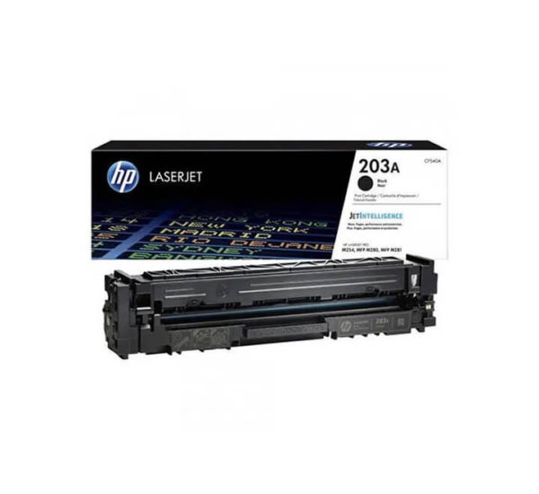 HP 203A Black LaserJet Toner Cartridge