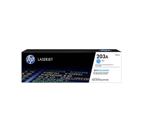 HP 203A Cyan LaserJet Toner Cartridge