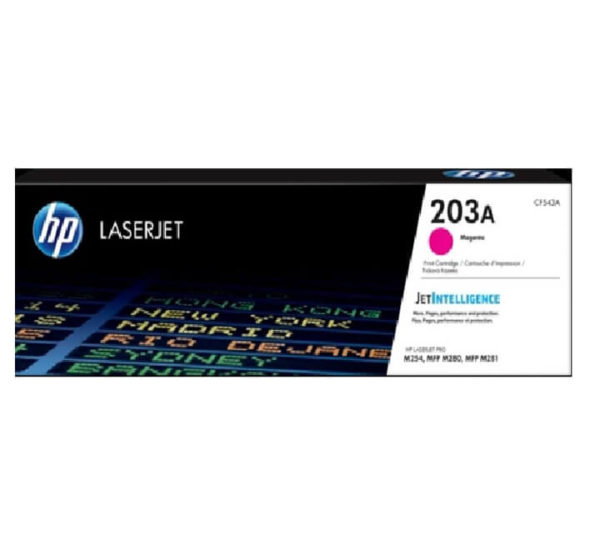 HP 203A Magenta LaserJet Toner Cartridge
