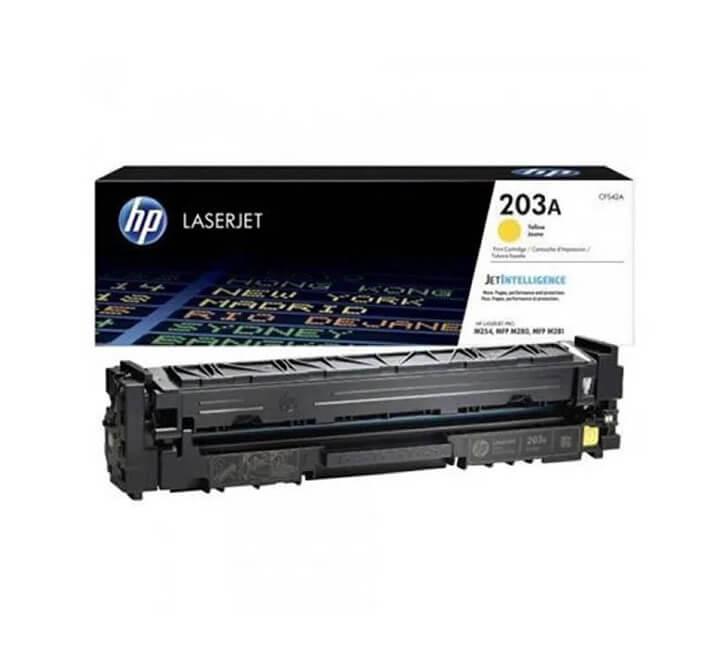 HP 203A Yellow LaserJet Toner Cartridge