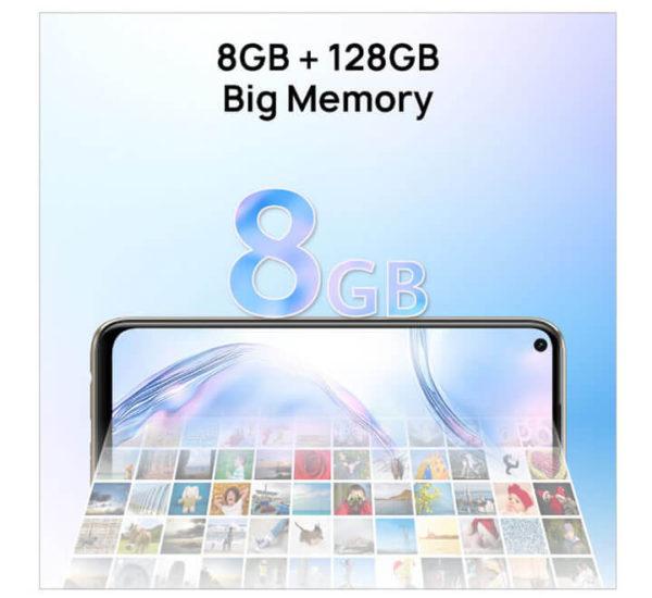 Huawei Nova 7i Memory and Storage