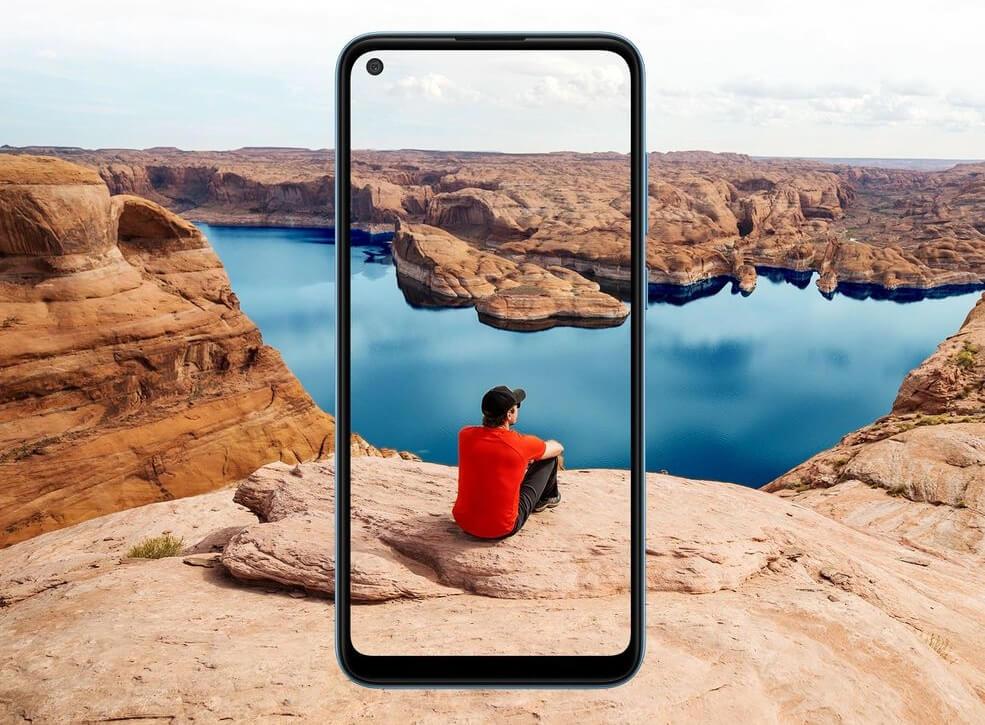 Samsung Galaxy A11 Large Display