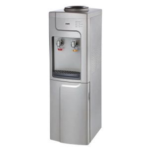Water Dispenser, Standing, Hot & Normal, Silver & Grey