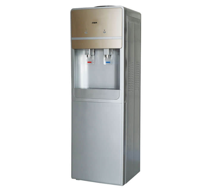 Water Dispenser, Standing, Hot & Cold, Compressor cooling, Silver & Gold