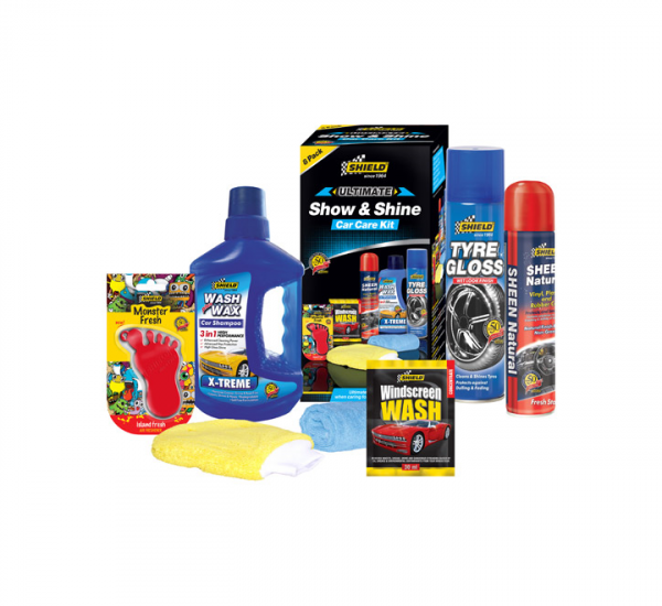 Shield 7 Pack Complete Car Care Kit