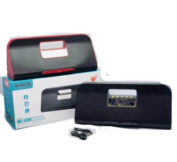 WSTER WS-5389 Bluetooth Wireless Speaker