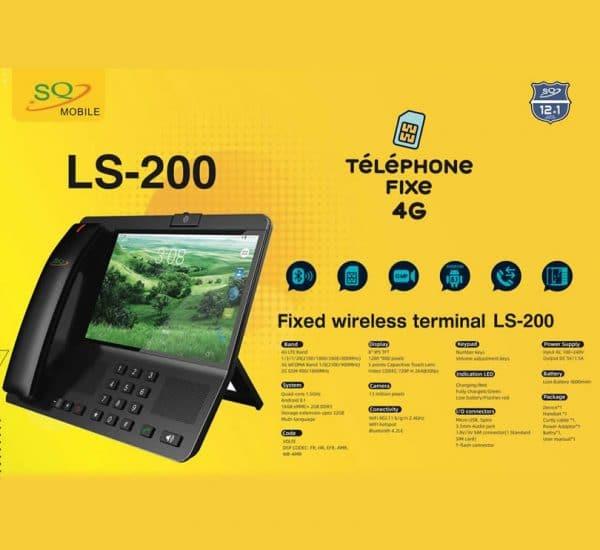 SQ LS-200 Fixed Wireless Landline Phone